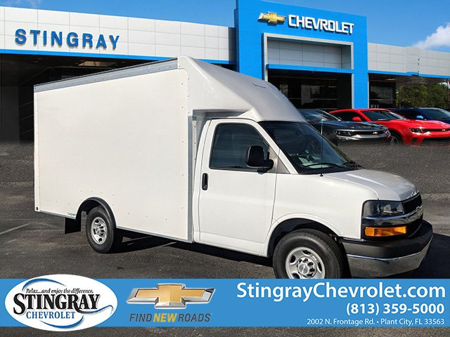 2019 Chevrolet Express 3500 4x2, Rockport Cutaway Van #KN000208 - photo 1