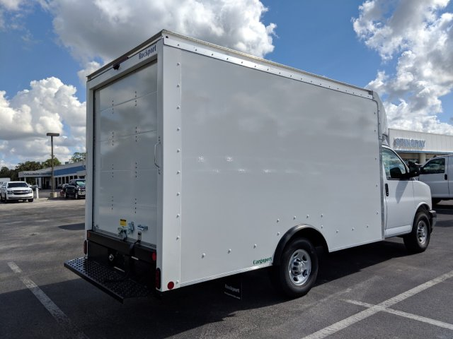 2019 Express 3500 4x2,  Rockport Cargoport Cutaway Van #KN000338 - photo 2