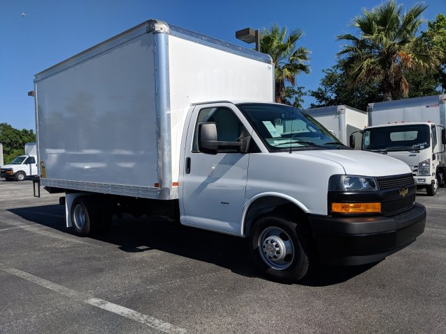 2019 Express 3500 4x2,  J&B Truck Body Cutaway Van #KN004766 - photo 1