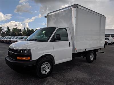 2019 Express 3500 4x2,  J&B Truck Body Cutaway Van #KN005065 - photo 8