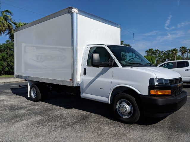 2019 Express 3500 4x2,  J&B Truck Body Cutaway Van #KN005078 - photo 3