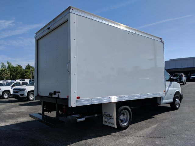 2019 Express 3500 4x2,  J&B Truck Body Cutaway Van #KN005078 - photo 1