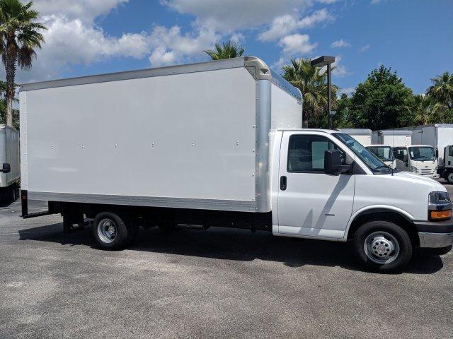 2019 Express 3500 4x2,  Rockport Cargoport Cutaway Van #KN006255 - photo 3