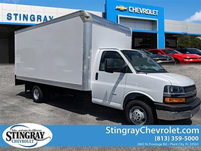 2019 Express 3500 4x2,  Rockport Cargoport Cutaway Van #KN006255 - photo 1