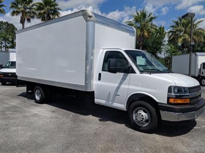 2019 Express 3500 4x2,  Rockport Cargoport Cutaway Van #KN006255 - photo 4