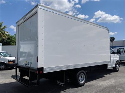 2019 Express 3500 4x2,  Rockport Cargoport Cutaway Van #KN006255 - photo 2
