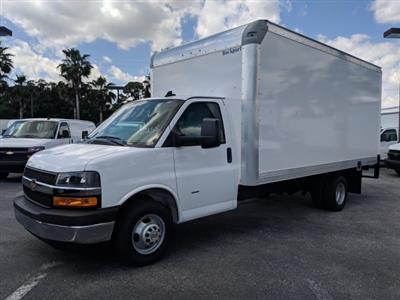 2019 Express 3500 4x2,  Rockport Cargoport Cutaway Van #KN006255 - photo 8