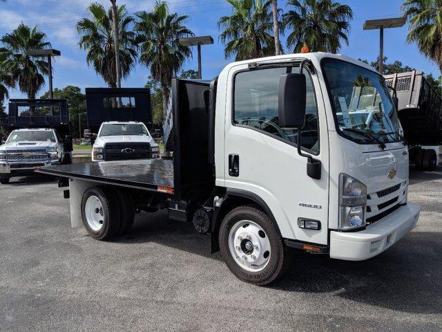 2019 LCF 4500 Regular Cab 4x2, Action Fabrication Platform Body #KS803988 - photo 3
