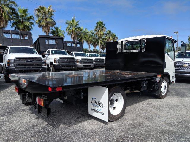 2019 LCF 4500 Regular Cab 4x2, Action Fabrication Platform Body #KS803988 - photo 1