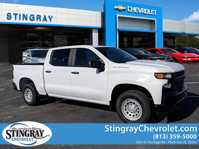 2019 Silverado 1500 Crew Cab 4x2,  Pickup #KZ200292 - photo 1