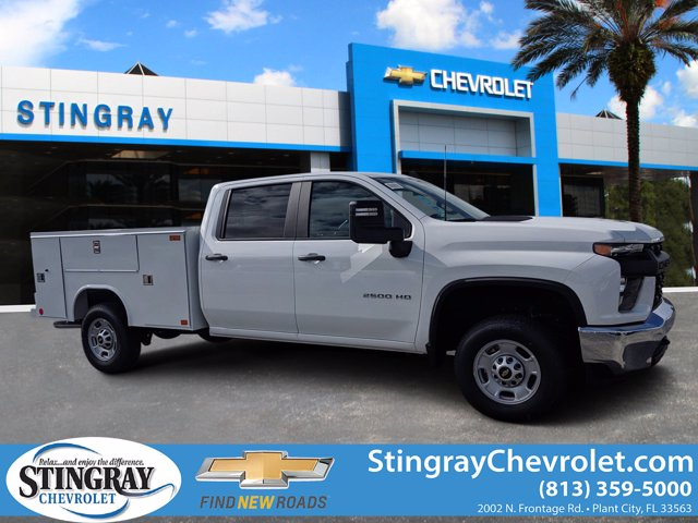 2020 Chevrolet Silverado 2500 Crew Cab 4x2, Reading Service Body #LF197856 - photo 1