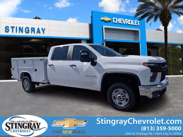 2020 Chevrolet Silverado 2500 Crew Cab RWD, Reading Service Body #LF197862 - photo 1