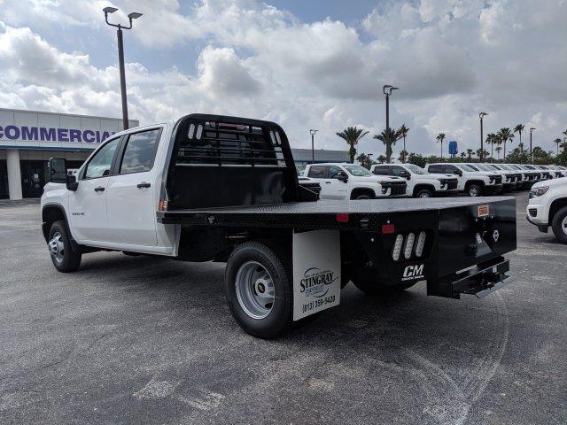 2020 Chevrolet Silverado 3500 Crew Cab DRW 4x4, CM Truck Beds Platform Body #LF239659 - photo 6