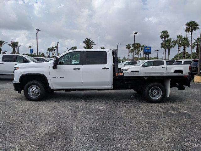 2020 Chevrolet Silverado 3500 Crew Cab DRW 4x4, CM Truck Beds Platform Body #LF239659 - photo 7