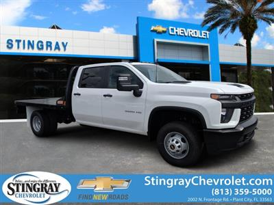 2020 Chevrolet Silverado 3500 Crew Cab DRW 4x4, CM Truck Beds Platform Body #LF239659 - photo 1