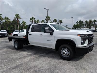 2020 Chevrolet Silverado 3500 Crew Cab DRW 4x4, CM Truck Beds Platform Body #LF239659 - photo 3