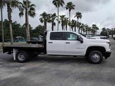 2020 Chevrolet Silverado 3500 Crew Cab DRW 4x4, CM Truck Beds Platform Body #LF239847 - photo 4