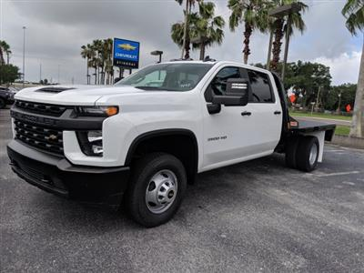 2020 Chevrolet Silverado 3500 Crew Cab DRW 4x4, CM Truck Beds Platform Body #LF239847 - photo 8