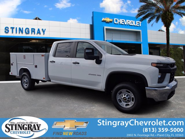 2020 Chevrolet Silverado 2500 Crew Cab RWD, Reading Service Body #LF248386 - photo 1