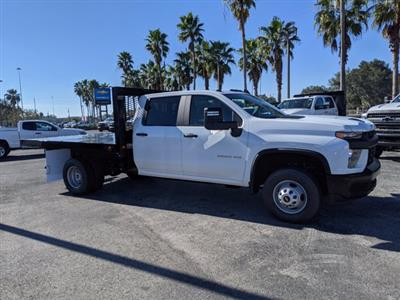 2020 Chevrolet Silverado 3500 Crew Cab DRW 4x2, Knapheide Platform Body #LF312736 - photo 3