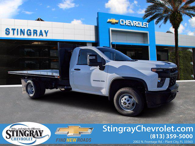 2020 Chevrolet Silverado 3500 Regular Cab DRW 4x4, Action Fabrication Platform Body #LF333461 - photo 1