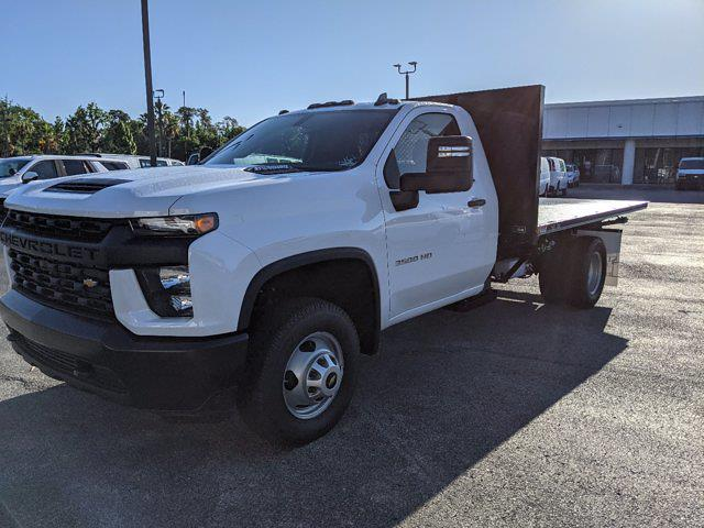 2020 Chevrolet Silverado 3500 Regular Cab DRW 4x4, Action Fabrication Platform Body #LF333461 - photo 8