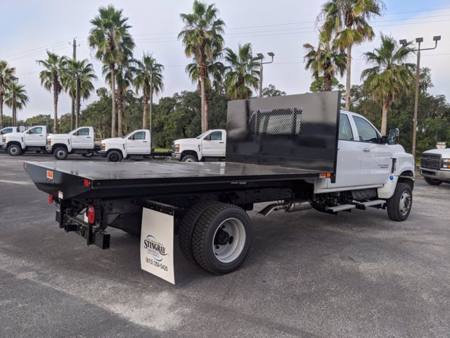 2020 Chevrolet Silverado 5500 Crew Cab DRW 4x4, Action Fabrication Platform Body #LH183382 - photo 1