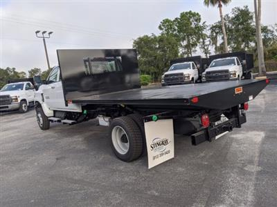 2020 Chevrolet Silverado 5500 Crew Cab DRW 4x4, Action Fabrication Platform Body #LH183382 - photo 6