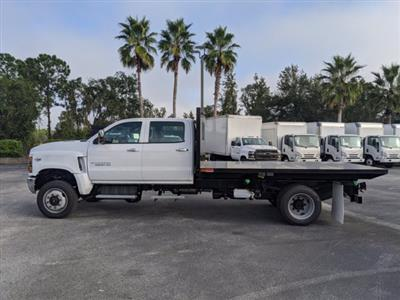 2020 Chevrolet Silverado 5500 Crew Cab DRW 4x4, Action Fabrication Platform Body #LH183382 - photo 7