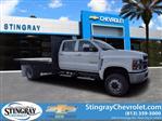 2020 Chevrolet Silverado 5500 Crew Cab DRW 4x4, Action Fabrication Platform Body #LH183382 - photo 1