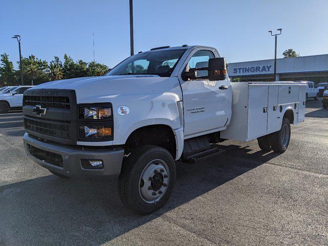 2020 Chevrolet Silverado 4500 Regular Cab DRW 4x4, Knapheide Steel Service Body #LH376222 - photo 9