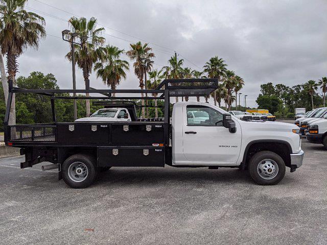2021 Chevrolet Silverado 3500 Regular Cab AWD, Action Fabrication Platform Body Contractor Body #MF196704 - photo 4