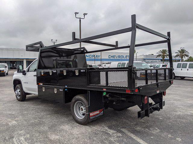 2021 Chevrolet Silverado 3500 Regular Cab AWD, Action Fabrication Platform Body Contractor Body #MF196704 - photo 6