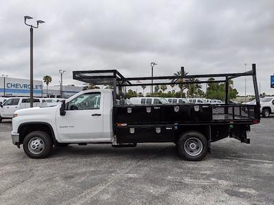 2021 Chevrolet Silverado 3500 Regular Cab AWD, Action Fabrication Platform Body Contractor Body #MF196704 - photo 7