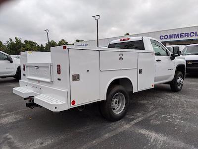 2021 Chevrolet Silverado 3500 Regular Cab AWD, Reading SL Service Body #MF197047 - photo 2