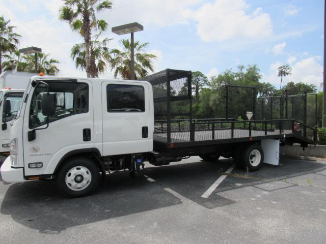 2017 Low Cab Forward Crew Cab, Womack Equipment Trailers, Inc Dovetail Landscape #h7002104 - photo 3