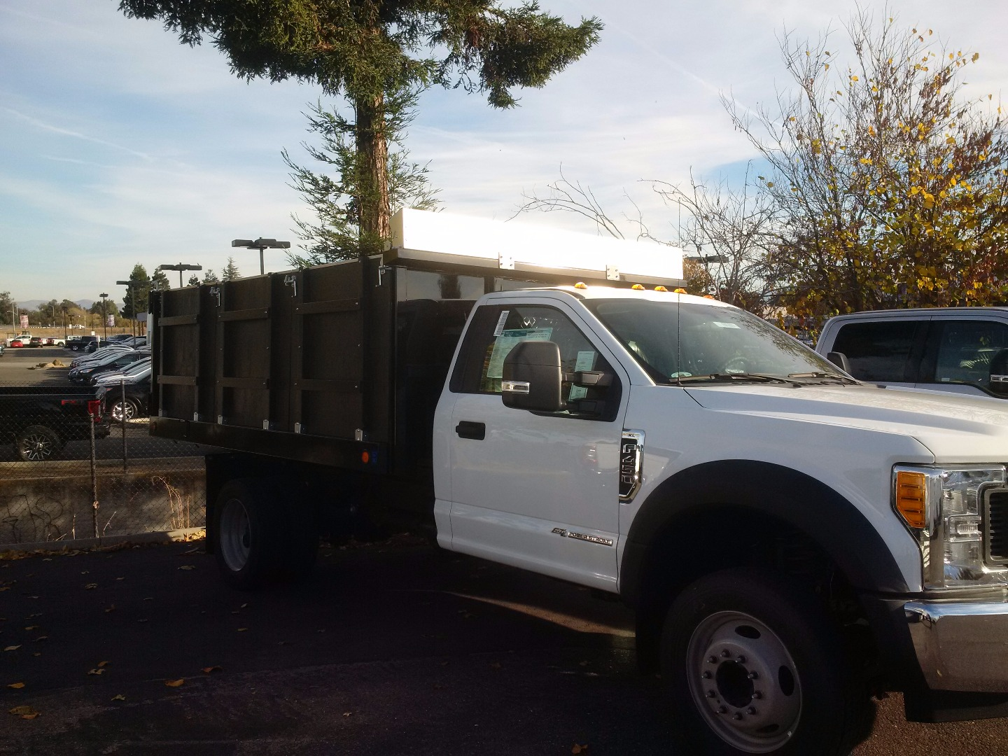 2017 F-450 Regular Cab DRW, Royal Landscape Dump #F31071 - photo 3
