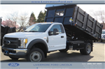 2017 F-450 Regular Cab DRW, Royal Landscape Dump #F31071 - photo 1