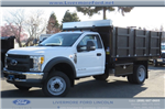 2017 F-450 Regular Cab DRW, Royal Landscape Dump #F31072 - photo 1