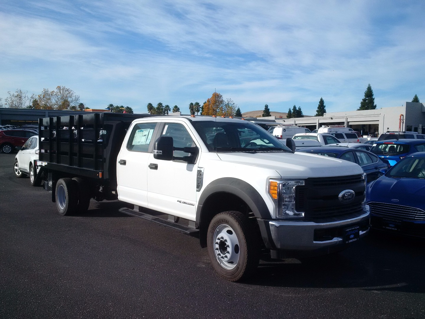 2017 F-550 Crew Cab DRW, Harbor Stake Bed #F31221 - photo 3
