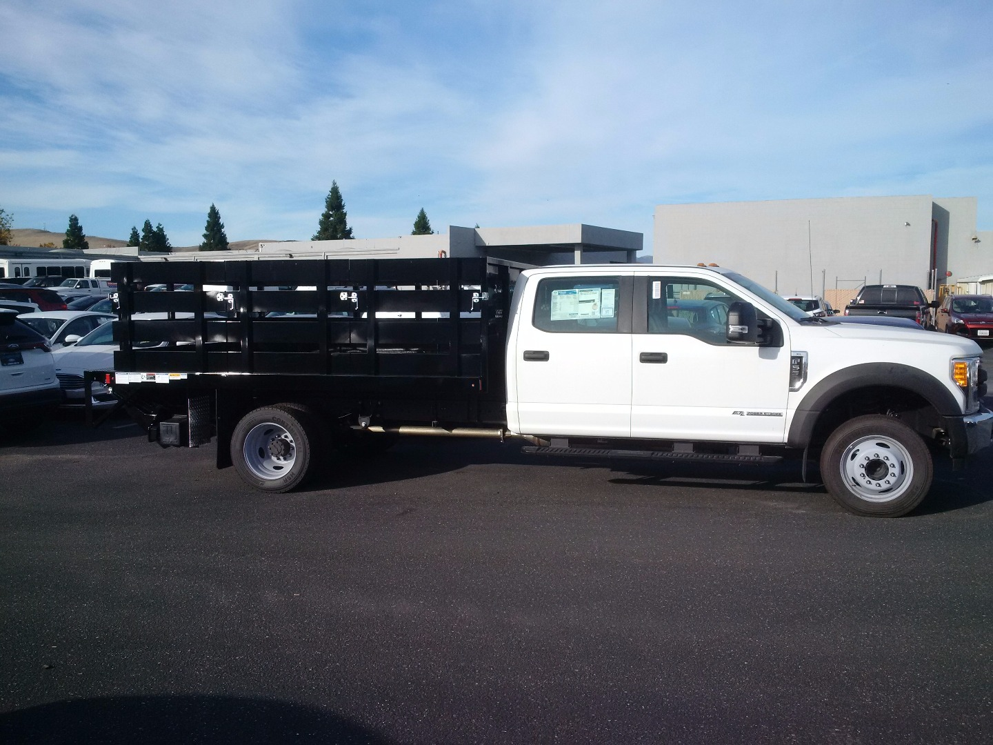 2017 F-550 Crew Cab DRW, Harbor Stake Bed #F31221 - photo 2