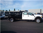2017 F-550 Crew Cab DRW, Harbor Stake Bed #F31221 - photo 1