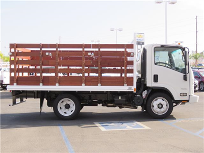 2016 LCF 4500 Regular Cab,  Industrial Truck Bodies Stake Bed #T16886 - photo 4