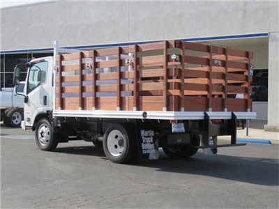2016 LCF 4500 Regular Cab,  Industrial Truck Bodies Stake Bed #T16886 - photo 2