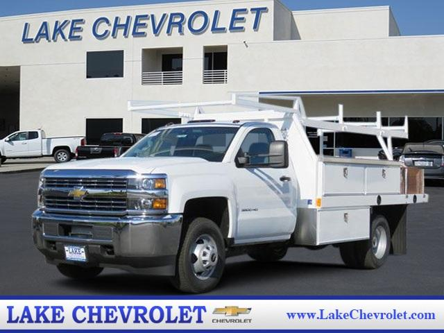 2017 Silverado 3500 Regular Cab DRW 4x2,  Harbor Standard Contractor Contractor Body #T17464 - photo 1