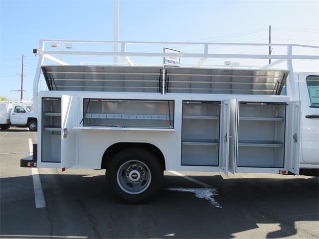 2017 Silverado 3500 Regular Cab DRW 4x2,  Harbor Standard Contractor Body #T17464 - photo 6