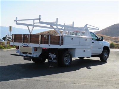 2017 Silverado 3500 Regular Cab DRW 4x2,  Harbor Standard Contractor Contractor Body #T17464 - photo 2