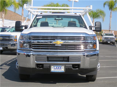 2017 Silverado 3500 Regular Cab DRW 4x2,  Harbor Standard Contractor Contractor Body #T17464 - photo 4