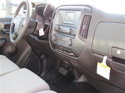 2017 Silverado 3500 Regular Cab DRW 4x2,  Harbor Standard Contractor Body #T17464 - photo 9