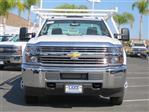 2017 Silverado 3500 Regular Cab DRW 4x2,  Harbor Standard Contractor Body #T17464 - photo 5